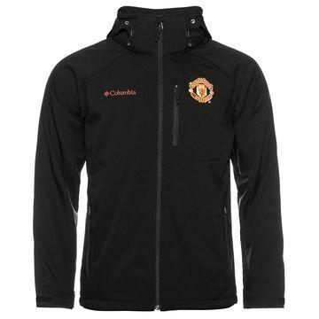 Manchester United x Columbia Takki Cascade Ridge II Softshell Musta