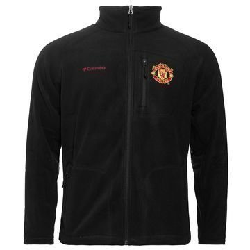 Manchester United x Columbia Takki Fast Trek II Full Zip Fleece Musta