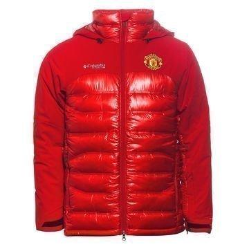 Manchester United x Columbia Takki Heatzone 1000 TurboDown Punainen