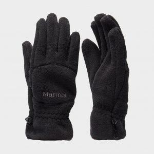 Marmot Fleece Hanskat Musta