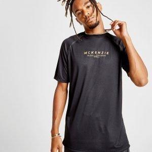 Mckenzie Discord Poly T-Shirt Musta