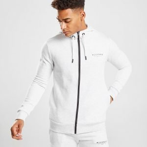 Mckenzie Essential Zip Through Hoodie Harmaa