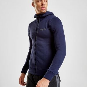 Mckenzie Essential Zip Through Hoodie Laivastonsininen