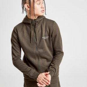 Mckenzie Essential Zip Through Hoodie Vihreä