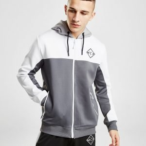 Mckenzie Marmy Poly Zip Through Hoodie Harmaa