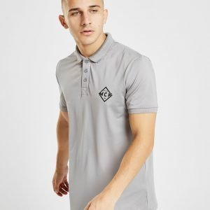 Mckenzie Oyster Poly Polo Shirt Harmaa