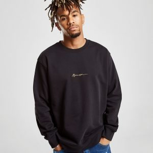 Mennace Essential Signature Sweatshirt Musta