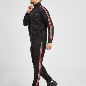 Mennace Tricot Poly Track Pants Musta