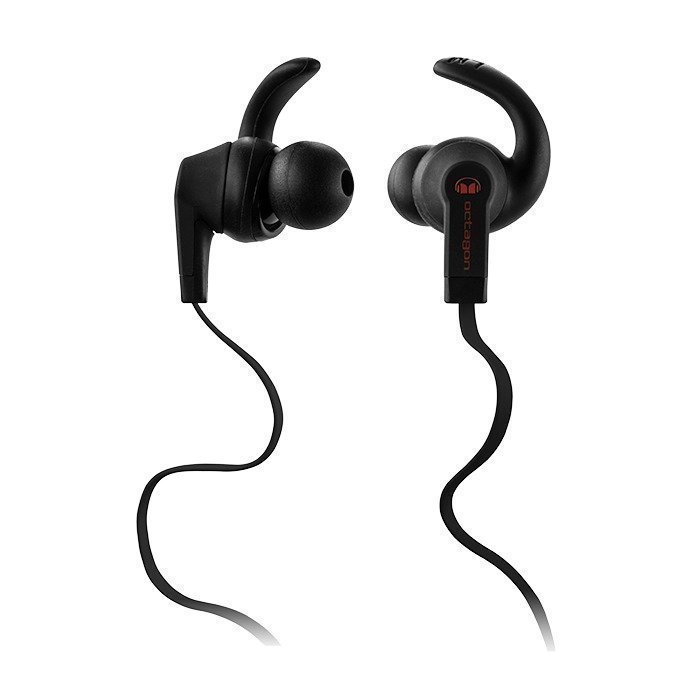 Monster Octagon In-Ear Headphones black