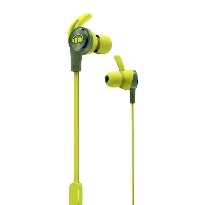 Monster iSport Achieve In-Ear Headphones green