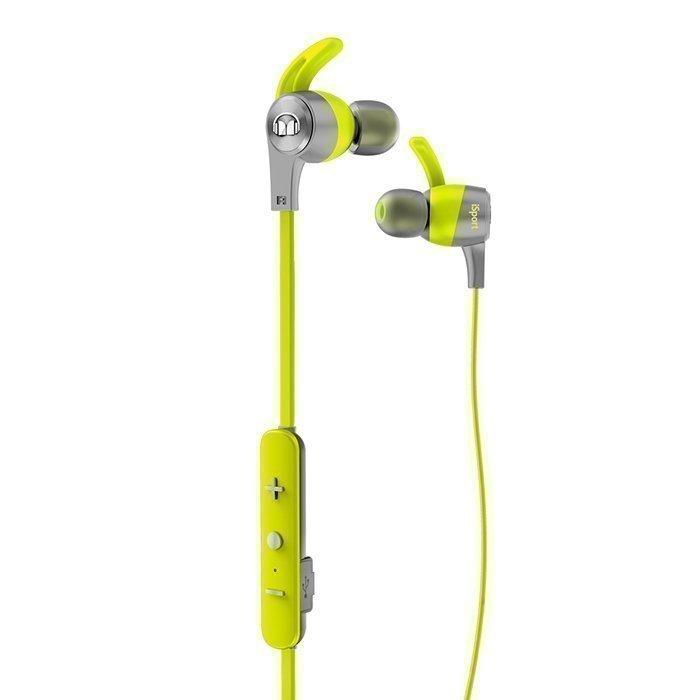 Monster iSport Achieve Wireless In-Ear Headphones green