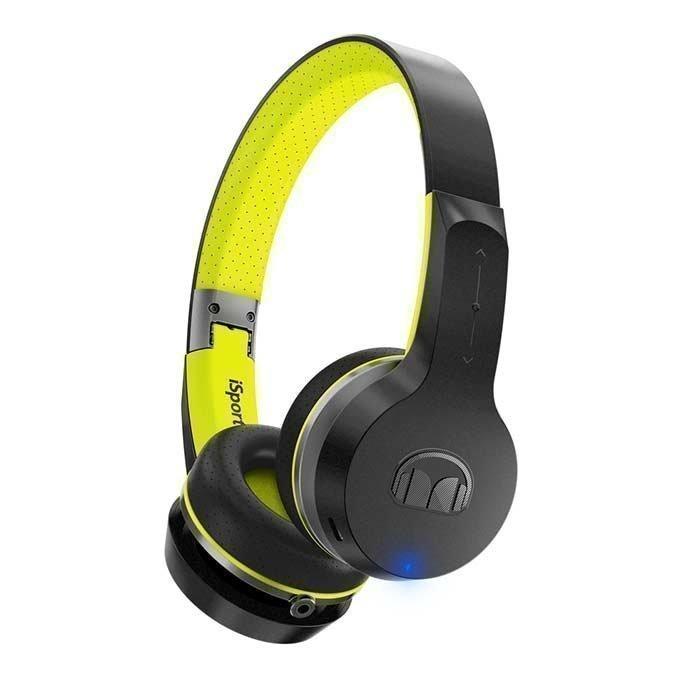 Monster iSport Freedom V.2 Wireless On-Ear Headphones green