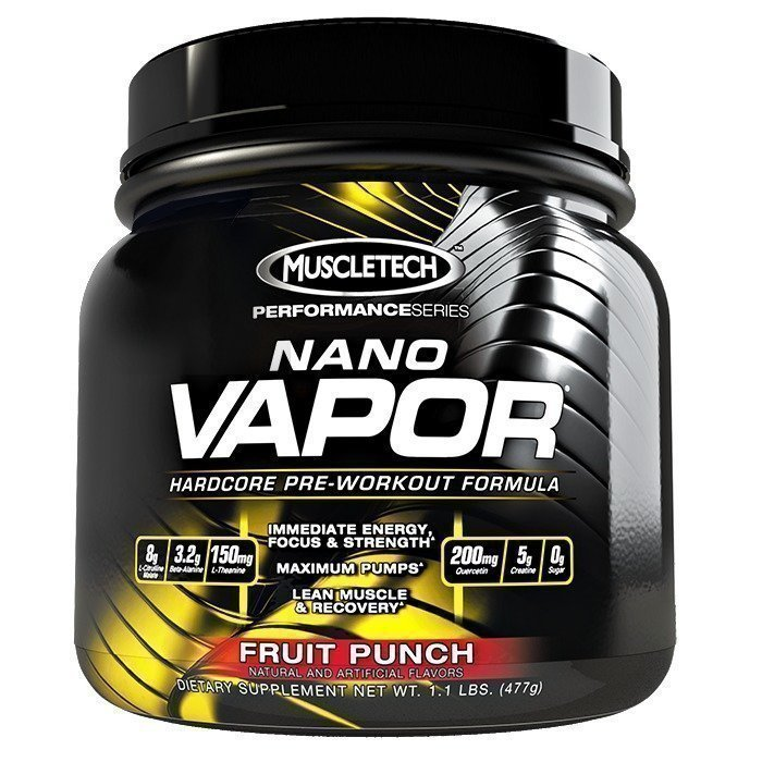 MuscleTech NaNO Vapor Performance Series 477g Fruit Punch