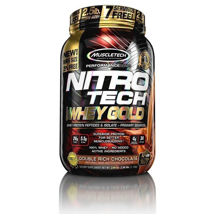 MuscleTech Nitro-Tech Whey Gold 1