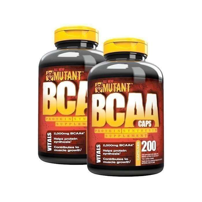 Mutant 2 x Mutant BCAA 200 Caps