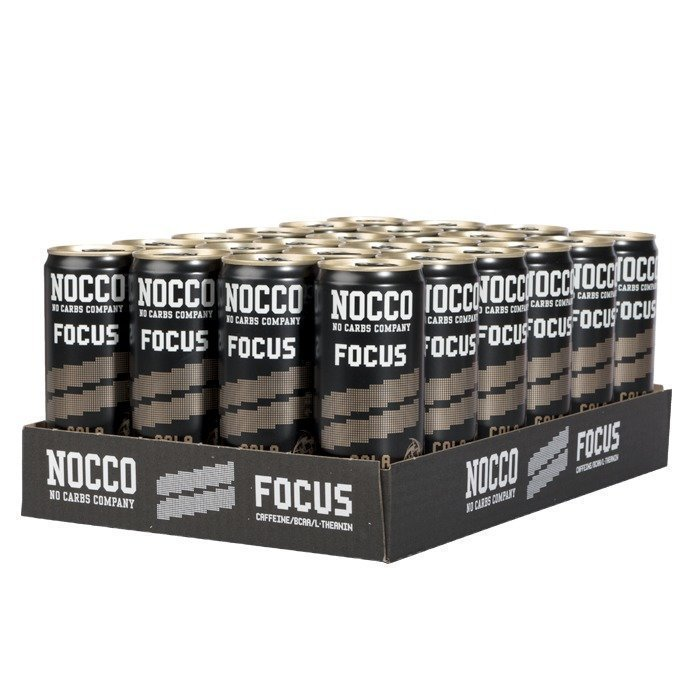 NOCCO 24 x NOCCO FOCUS 330 ml Cola