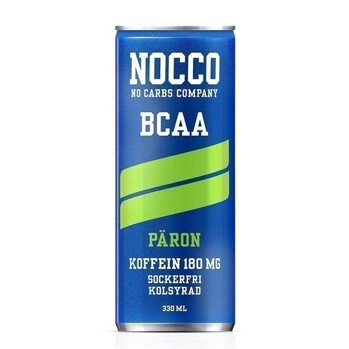 NOCCO BCAA 330 ml Citron/Lime NEW Improved
