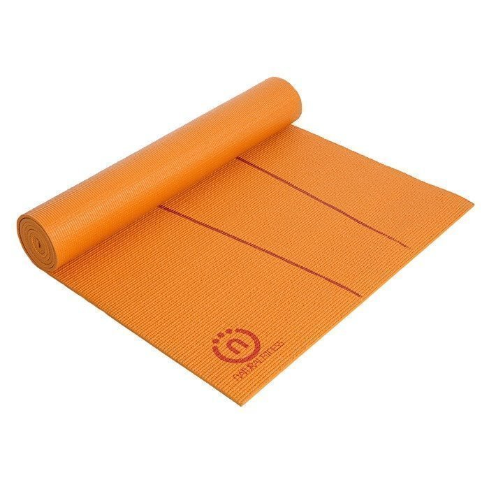 Natural Fitness Eco Smart Yoga Mat. Orange/Red Rock