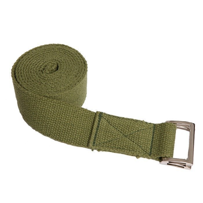 Natural Fitness Hemp Yoga Strap Olive