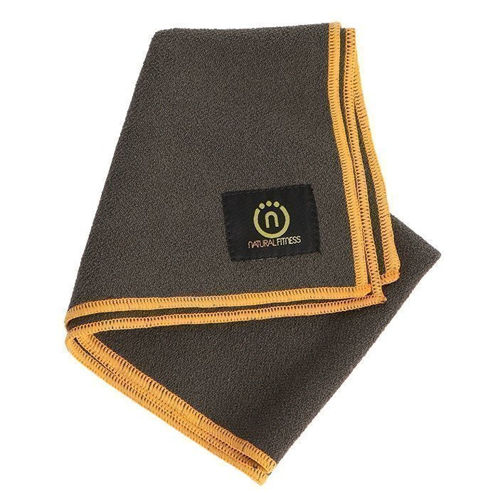Natural Fitness Yoga Hand Towel- Carbon/Sun
