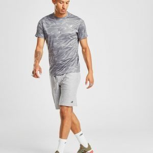 New Balance Accelerate All Over Print T-Shirt Harmaa