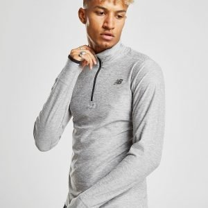 New Balance Transit 1/4 Zip Top Harmaa