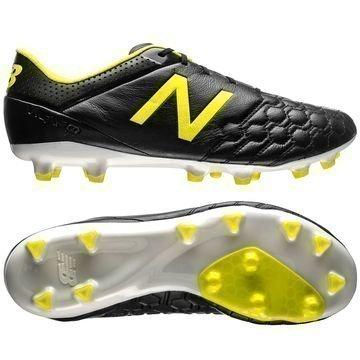 New Balance Visaro K-Leather FG Musta/Keltainen