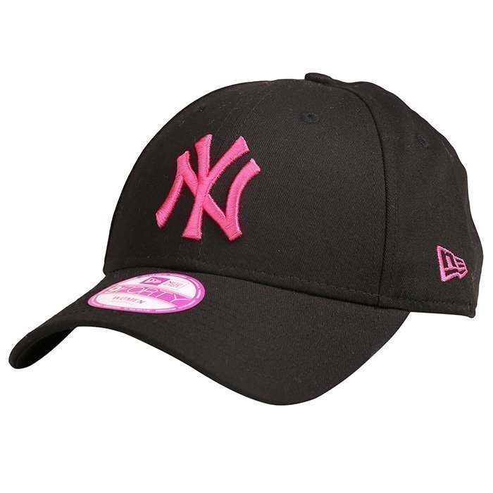 New Era 9Forty League Basic Neyyan Black/Pink OS