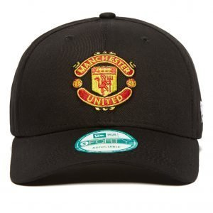 New Era 9forty Manchester United Adjustable Cap Musta
