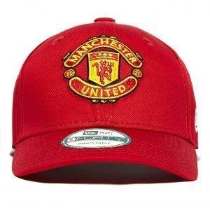 New Era 9forty Manchester United Adjustable Cap Punainen