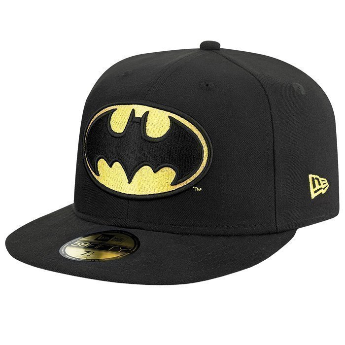 New Era Character Basic Batman Black 6 7/8