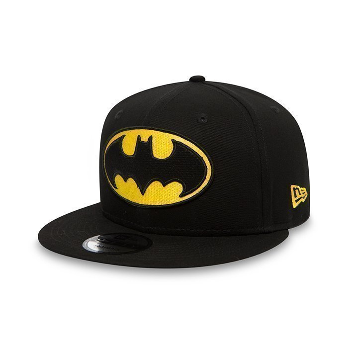 New Era Contrast Hero Snapback Batman black/yellow Medium/Large