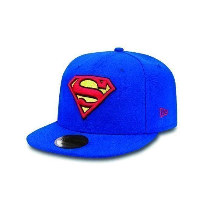 New Era Contrast Hero Snapback Superman blue/red Small/Medium