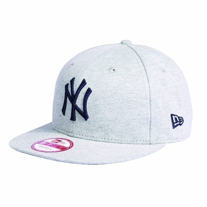 New Era Jersey Snap New York Yankees grey Small/Medium