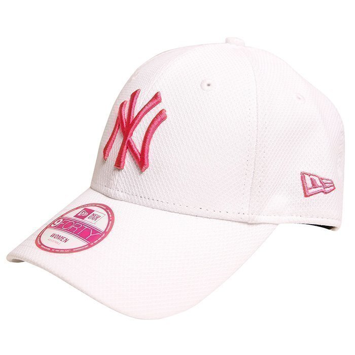 New Era MNO 940 DE Trainer Neyyan White/Pink OS