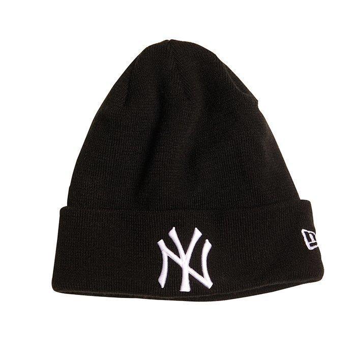 New Era MNO Basic Cuff Knit New York Yankees Black One Size