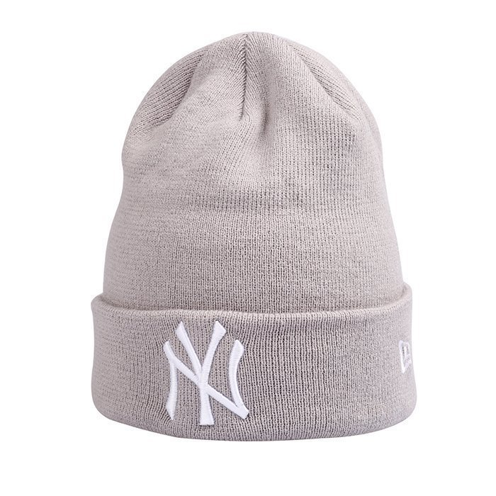 New Era MNO Basic Cuff Knit New York Yankees Graphite One Size