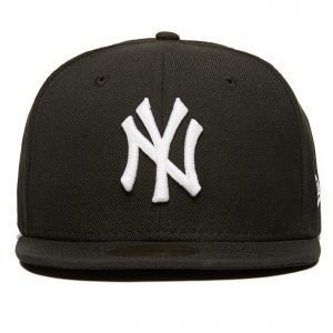 New Era Mlb New York Yankees 59fifty Fitted Cap Musta