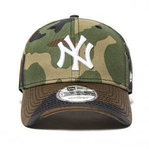 New Era Mlb New York Yankees 9forty Cap Camo / White