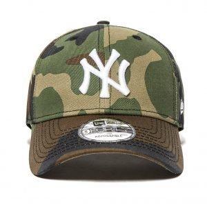 New Era Mlb New York Yankees 9forty Cap Camo / White