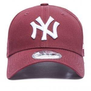 New Era Mlb New York Yankees 9forty Essentials Cap Burgundy / White