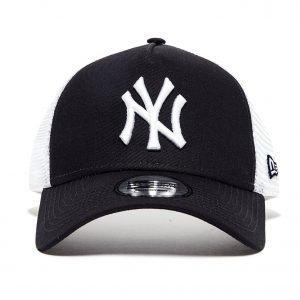 New Era Mlb New York Yankees Snapback Trucker Cap Laivastonsininen