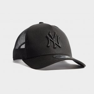 New Era Mlb New York Yankees Snapback Trucker Cap Musta