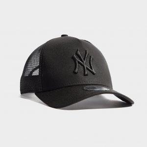New Era Mlb New York Yankees Snapback Trucker Cap Musta
