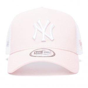 New Era Mlb New York Yankees Snapback Trucker Cap Vaaleanpunainen