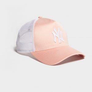 New Era Mlb New York Yankees Trucker Cap Vaaleanpunainen