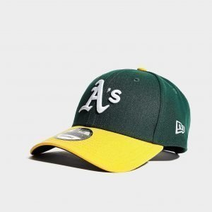 New Era Mlb Oakland Athletics 9forty Cap Vihreä