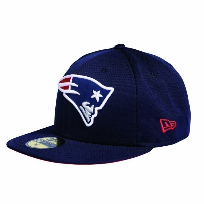 New Era NFL Fitted Trainer New England Patriots navy 7 1/4
