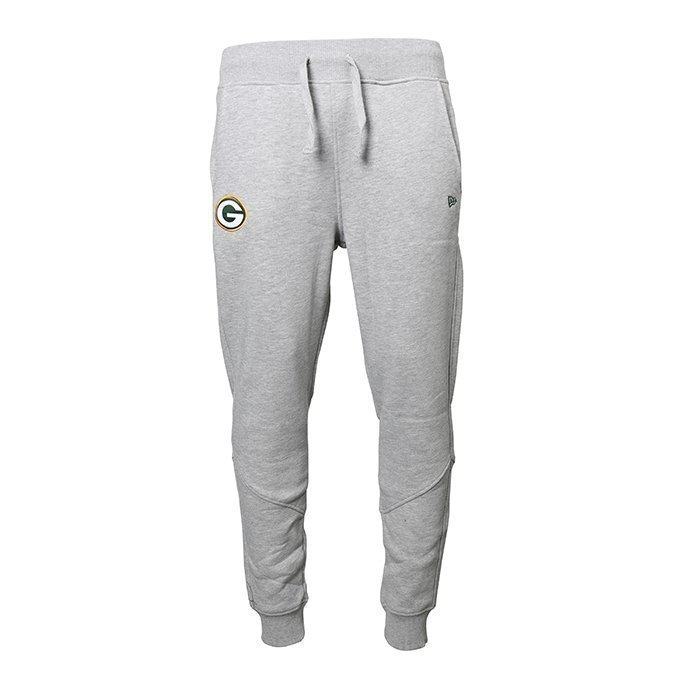 New Era NFL Track Pant Green Bay Packers Light grey heather M