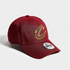New Era Nba Cleveland Cavaliers 9forty Cap Punainen